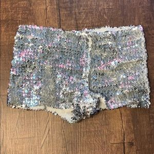 Sparkly booty shorts